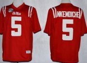 Wholesale Cheap Ole Miss Rebels #5 Robert Nkemdiche 2013 Red Jersey
