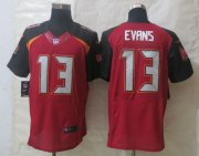 Wholesale Cheap Nike Buccaneers #13 Mike Evans Red Team Color Men's Stitched NFL New Elite Jersey
