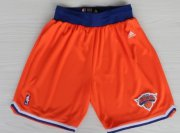 Wholesale Cheap New York Knicks Orange Short