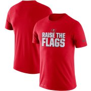 Wholesale Cheap Tampa Bay Buccaneers Nike Sideline Local Performance T-Shirt Red