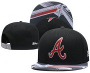 Wholesale Cheap MLB Atlanta Braves Snapback Ajustable Cap Hat GS 1