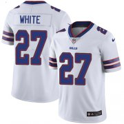 Wholesale Cheap Nike Bills #27 Tre'Davious White White Men's Stitched NFL Vapor Untouchable Limited Jersey
