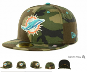 Wholesale Cheap Miami Dolphins fitted hats 07