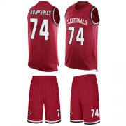Wholesale Cheap Nike Cardinals #74 D.J. Humphries Red Team Color Men's Stitched NFL Limited Tank Top Suit Jersey