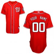 Wholesale Cheap Nationals Authentic Red 2011 Cool Base MLB Jersey (S-3XL)