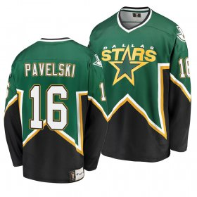 Wholesale Cheap Dallas Stars #16 Joe Pavelski Kelly Green Men\'s Heritage Premier Breakaway Player NHL Jersey