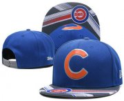Wholesale Cheap MLB Chicago Cubs Snapback Ajustable Cap Hat GS