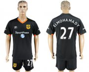 Wholesale Cheap Hull City #27 Elmohamady Away Soccer Club Jersey