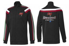 Wholesale Cheap NFL Tampa Bay Buccaneers Victory Jacket Black