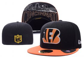 Wholesale Cheap Cincinnati Bengals fitted hats 02