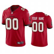 Wholesale Cheap Men's Tampa Bay Buccaneers Custom Red 2020 Vapor Limited Nike Jersey