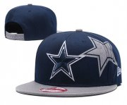 Wholesale Cheap NFL Dallas Cowboys Team Logo Black Adjustable Hat