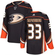 Wholesale Cheap Adidas Ducks #33 Jakob Silfverberg Black Home Authentic Stitched NHL Jersey