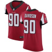 Wholesale Cheap Nike Falcons #90 Marlon Davidson Red Team Color Men's Stitched NFL Vapor Untouchable Elite Jersey