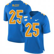 Wholesale Cheap Pittsburgh Panthers 25 LeSean McCoy Blue 150th Anniversary Patch Nike College Football Jersey