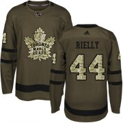 Wholesale Cheap Adidas Maple Leafs #44 Morgan Rielly Green Salute to Service Stitched Youth NHL Jersey