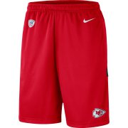 Wholesale Cheap Kansas City Chiefs Nike Sideline Coaches Shorts Red