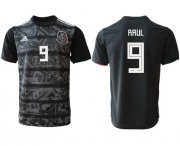 Wholesale Cheap Mexico #9 Raul Black Soccer Country Jersey