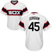 Wholesale Cheap White Sox #45 Michael Jordan White Alternate Home Cool Base Stitched Youth MLB Jersey