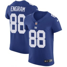 Wholesale Cheap Nike Giants #88 Evan Engram Royal Blue Team Color Men\'s Stitched NFL Vapor Untouchable Elite Jersey