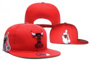 Wholesale Cheap NBA Chicago Bulls Snapback Ajustable Cap Hat YD 03-13_27