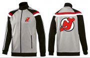 Wholesale NHL New Jersey Devils Zip Jackets Grey