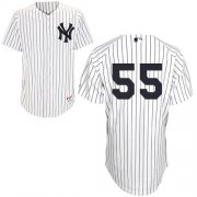 Wholesale Cheap Yankees #55 Russell Martin White Stitched MLB Jersey