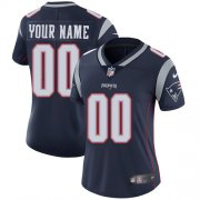 Wholesale Cheap Nike New England Patriots Customized Navy Blue Team Color Stitched Vapor Untouchable Limited Women's NFL Jersey