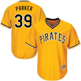 Wholesale Cheap Pirates #39 Dave Parker Gold Cool Base Stitched Youth MLB Jersey