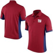 Wholesale Cheap Men's Nike NFL New York Giants Red Team Issue Performance Polo