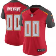 Wholesale Cheap Nike Tampa Bay Buccaneers Customized Red Team Color Stitched Vapor Untouchable Limited Women's NFL Jersey