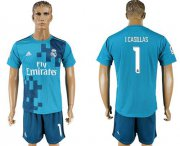 Wholesale Cheap Real Madrid #1 I.Casillas Sec Away Soccer Club Jersey