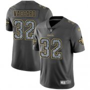 Wholesale Cheap Nike Saints #32 Kenny Vaccaro Gray Static Men's Stitched NFL Vapor Untouchable Limited Jersey