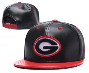 Wholesale Cheap NFL Green Bay Packers Big Logo Black Snapback Adjustable Hat GS15