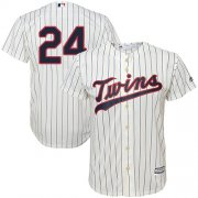 Wholesale Cheap Twins #24 C.J. Cron Cream Strip Cool Base Stitched Youth MLB Jersey