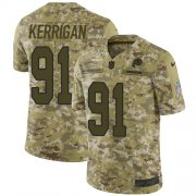 Wholesale Cheap Nike Redskins #91 Ryan Kerrigan Camo Youth Stitched NFL Limited 2018 Salute to Service Jersey
