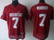 Wholesale Cheap Oklahoma Sooners #7 DeMarco Murray Red Jersey