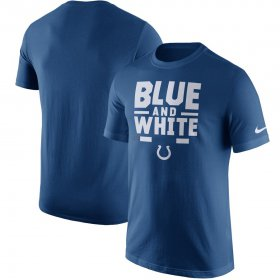 Wholesale Cheap Indianapolis Colts Nike Local Verbiage T-Shirt Royal