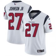 Wholesale Cheap Nike Texans #27 Duke Johnson Jr White Youth Stitched NFL Vapor Untouchable Limited Jersey