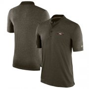 Wholesale Cheap Men's Atlanta Falcons Nike Olive Salute to Service Sideline Polo T-Shirt