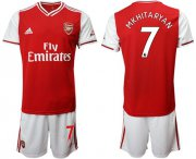 Wholesale Cheap Arsenal #7 Mkhitaryan Home Soccer Club Jersey