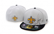 Wholesale Cheap New Orleans Saints fitted hats 08