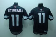 Wholesale Cheap Cardinals #11 Larry Fitzgerald Black Stitched NFL Jersey