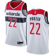 Wholesale Cheap Nike Wizards #22 Otto Porter White NBA Swingman Association Edition Jersey