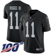 Wholesale Cheap Nike Raiders #11 Henry Ruggs III Black Team Color Men's Stitched NFL 100th Season Vapor Untouchable Limited Jersey