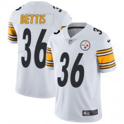 Wholesale Cheap Nike Steelers #36 Jerome Bettis White Men's Stitched NFL Vapor Untouchable Limited Jersey