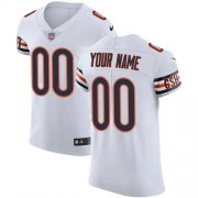 Wholesale Cheap Nike Chicago Bears Customized White Stitched Vapor Untouchable Elite Men's NFL Jersey