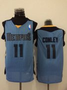 Wholesale Cheap Memphis Grizzlies #11 Mike Conley Light Blue Swingman Jersey