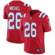 Wholesale Cheap Nike Patriots #26 Sony Michel Red Alternate Youth Stitched NFL Vapor Untouchable Limited Jersey