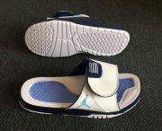 Wholesale Cheap Air Jordan Hydro 11(XI) Shoes White/Blue-Black